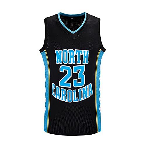 GFDDZ NBA Jersey # 23 - NBA Lakers Jersey Hombres Adultos Baloncesto Jersey Transpirable Resistente Al Desgaste Bordado Camiseta para Hombre, Jersey De Ventilador De Secado Rápido, Black-M