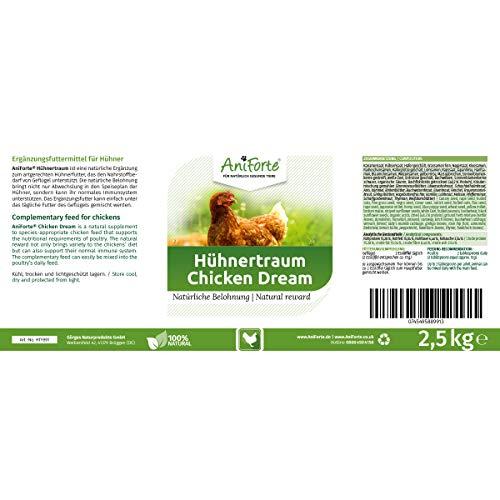 AniForte Hühnertraum Gesunde Belohnung 2,5 kg – Naturprodukt für Hühner - 2