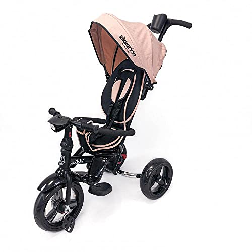 Kikkaboo Triciclo Nikki - Sillas de paseo, unisex