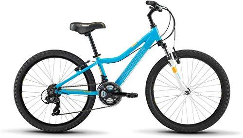 "Diamondback Bicycles Lustre 20 Youth Girls 20"" Wheel Mountain Bike, Purple"