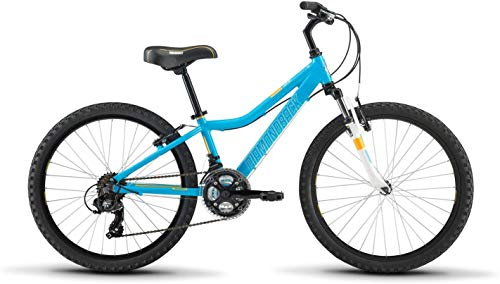 "Diamondback Bicycles Lustre 20 Youth Girls 20"" Wheel Mountain Bike, Purple"