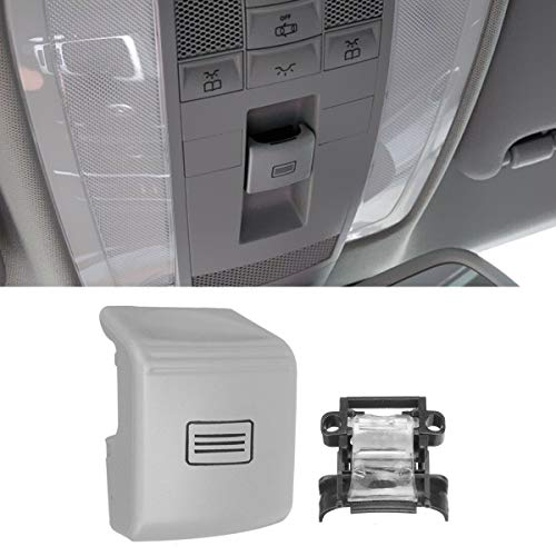 2005-2012 2007-2012 2006-2011 -Beige Jaronx Sunroof Window Switch Button Cover for Mercedes-Benz W164 ML-CLASS ,X164 GL-CLASS ,W251 R-CLASS