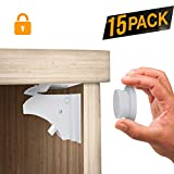 15 Magnetic Cabinet Locks with 3 Keys Baby Safety