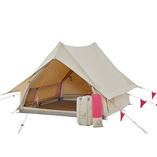 Nordisk Ydun Tech Mini Firstzelt 1-2 Personen Camping Haus Zelt Nylon Baumwolle Cherry