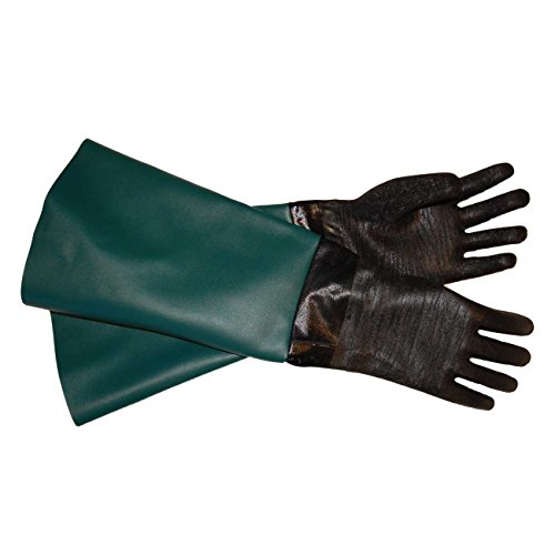 "TUFF-Blast Gloves for Sandblasting Sandblaster Sand Blast Cabinet - 6"" x 24"" Made in USA"