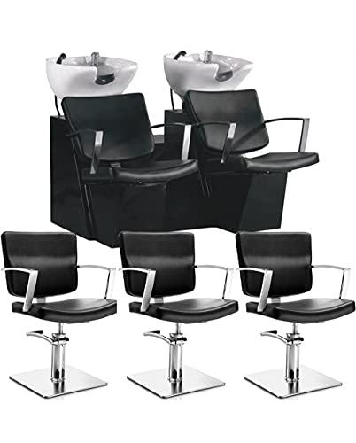 2 Lavatesta Parrucchiere e Barbiere Professionale con 3 Poltrone Offerta Alpha