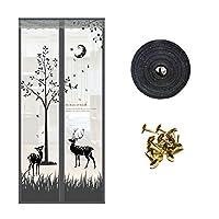 ドア防蚊磁気カーテン、暗号化されたスクリーンドア-A-850*2100 mm