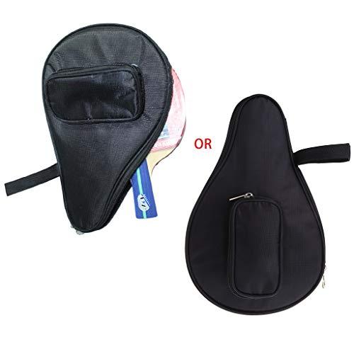 Lowest Prices! Chuiouy Table Tennis Racket Bag Waterproof Black