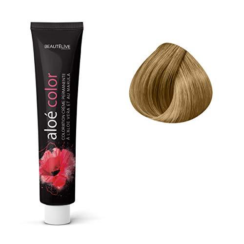 Coloration crème à l'aloé véra et au marula Dorés, 9.3 : Blond Très Clair Doré Beautélive