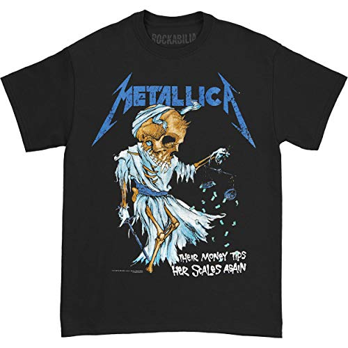 Metallica Men's Doris T-shirt Large Black