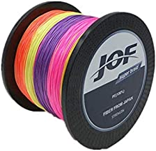 150M 15LB 0.35mm JOF Fishing Line Strong Braided 8 Strands Multicolour