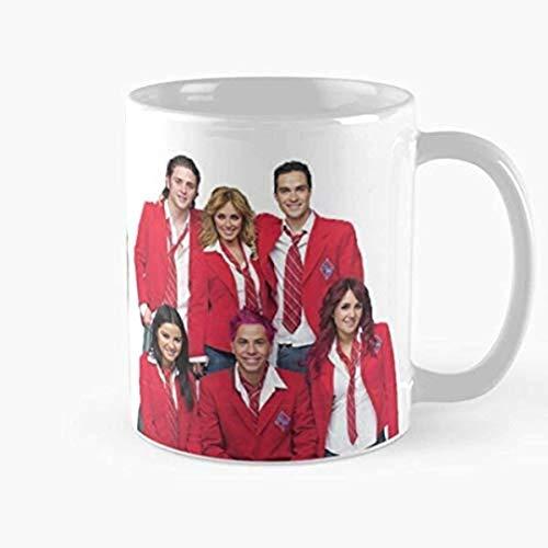 N\A Taza Rbd Rebelde, la Mejor Taza de café de cerámica con asa, Taza de café Reutilizable de cerámica aislada, Taza de Viaje de café