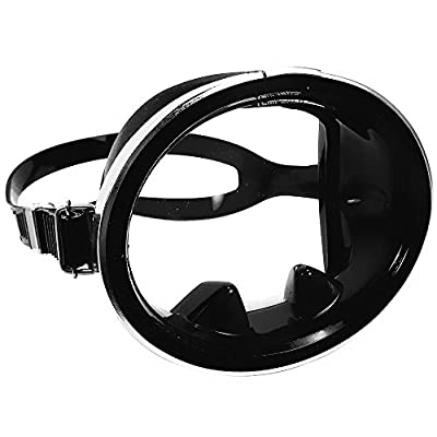 Promate Classic Old School Oval Silicone Scuba Diving Snorkeling Mask Dive Diver Divers Snorkel Snorkels