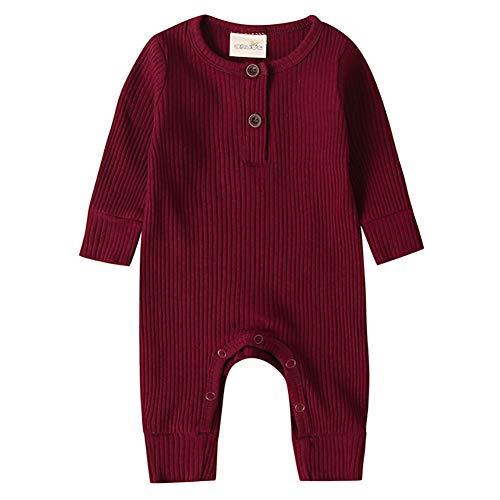 Unisex Baby Kleidung Schlafanzug Baumwolle Strampler Jungen Mädchen Overalls Jumpsuit Bodysuits Säugling Spielanzug Baby-Nachtwäsche