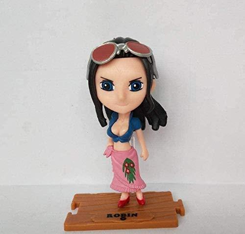 Personajes de Anime Modelo de una Pieza Usopp Roronoa Zoro Vinsmoke Sanji Figura de acción Juguete Coleccionables Recuerdos Muñeca de Regalo OPP Bolsa 10cm