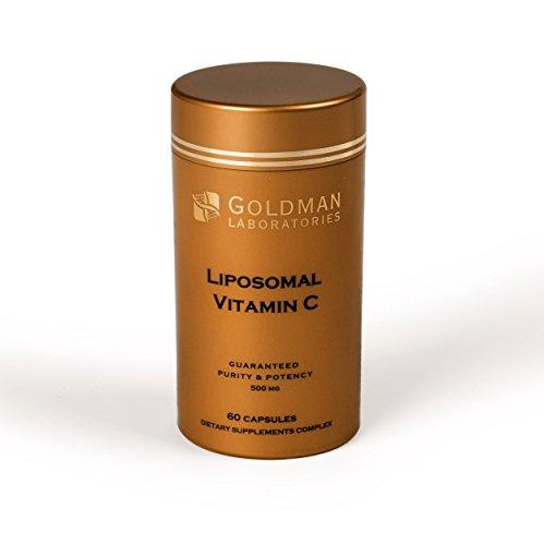 Vitamina C liposomale 500 mg - Dose potente - 60 Cápsulas végétariennes