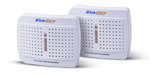 Great Features Of Eva-dry E-333 Renewable Mini Dehumidifier 2-PACK
