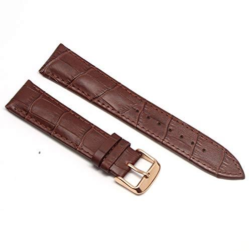 Bandas De Reloj De Cuero 20mm De Reloj Straput Terfly Hebilla Banda De Hebilla De Acero Strap Adecuado Para Samsung Galaxy Watch Gear S3 Frontier 10688