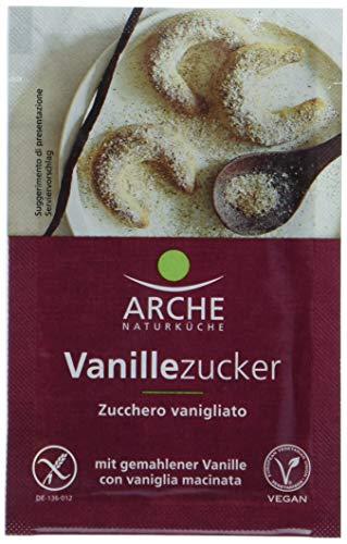 Arche Vanillezucker (5 Päckchen) Bio Backzutat, 3er Pack (3 x 40 g)