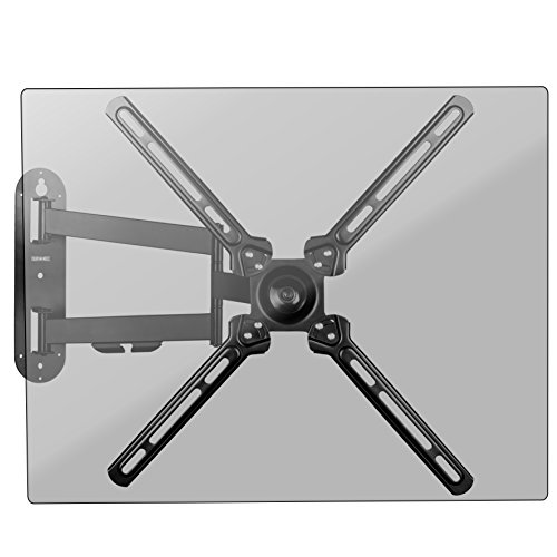 Duronic TVB1130 Universale TV-Wandhalterung - Fullmotion: Schwenk-, neig- und rotierbar - Kompatibel mit Bildschirmen von 13