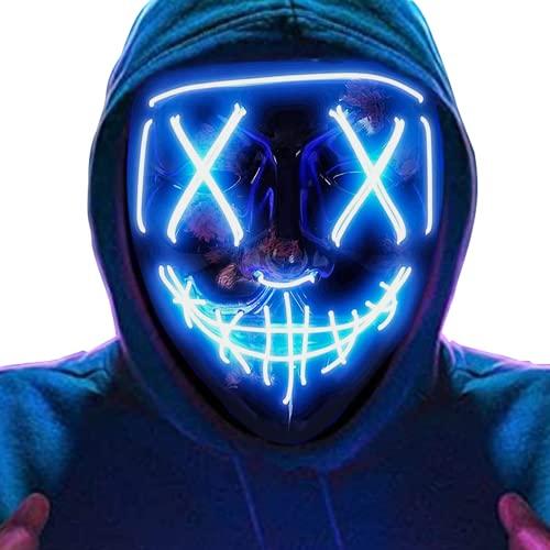 BeauFlw Halloween LED Mascaras, LED Máscaras...