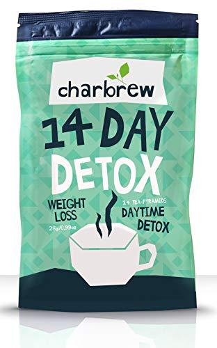 Charbrew Day Time Teatox 14 Tage Gewichtsverlust Tee (KEINE LAXATIVE WIRKUNG)