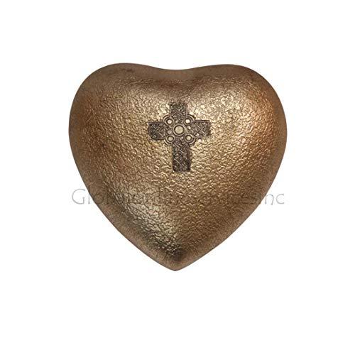 Croix celtique Croix Memorial Urns, humains Mini Urne funéraire pour cendres