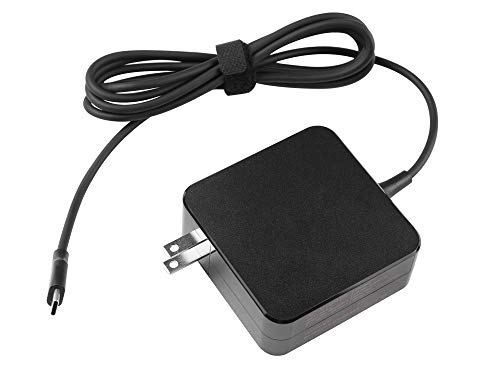 65W USB-C AC Charger Adapter Replacement for HP L04650-850 L04540-002 L32392-001 PA-1650-38HT A065R161P 925740-002 1588-3003 HU10674-16024 EliteBook x360 1030 G4 1040 G6 ProBook x360 11 G5 EE