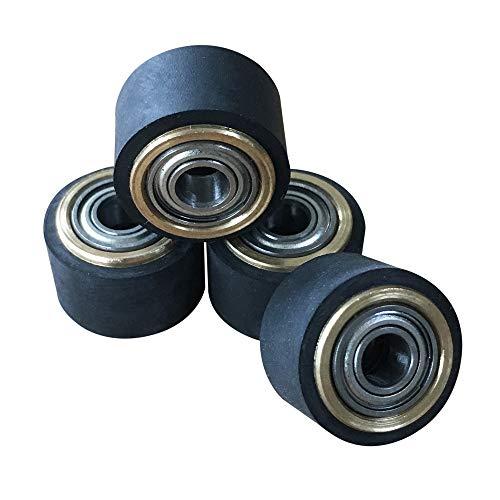 OIF 4 PCS Pinch Roller for Mimaki Plotter Cutter, Vinyl Cutter Plotter 4x10x14mm