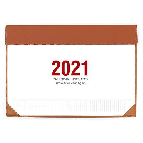 Planificador mensual 2021 Calendario de escritorio - Plan de Negocio Negocio Desktop Calendar enero 2021 a diciembre 2021, perfecto for planear y organizar for el hogar o la oficina Planner calendario