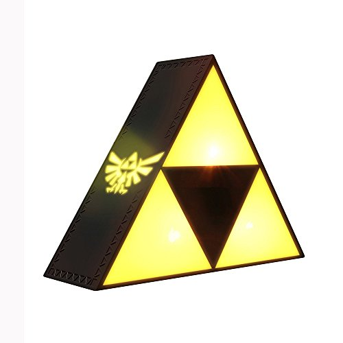 The Legend of Zelda Triforce Light - Lámpara de mesa, diseño de Nintendo
