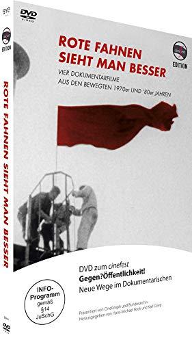 Rote Fahnen sieht man besser - Vier Dokumentarfilme aus den bewegten 1970er und '80er - [DVD]