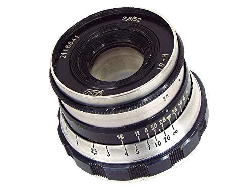 ※オールドレンズ※FED INDUSTAR-61L/D 52mm/f2.8 Lマウント ZEBRA オーバーホール済み