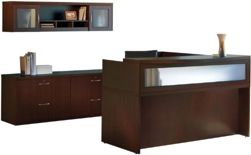Where To Buy Mayline Office Furniture L Shaped Reception Desk With Additional Storage Juana