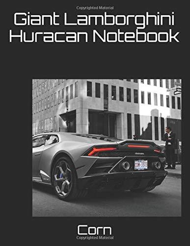 Giant Lamborghini Huracan Notebook