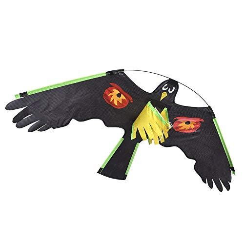 Cometa Repelente De Pájaros, Halcón Volador Falso, Espantapájaros Realista, Dispositivo Espantapájaros para Pájaros, Ratones, Ardillas, Conejos, Otros Pájaros