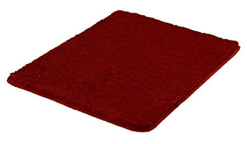 Kleine Wolke Badteppich Super Soft rot 55 x 65 cm