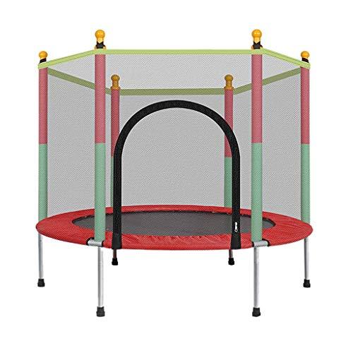 WMY Trampolín de 5 pies para niños, trampolín para Exteriores e Interiores con colchoneta de Salto de Red y Acolchado de Cubierta de Resorte, Regalos para niños y niñas