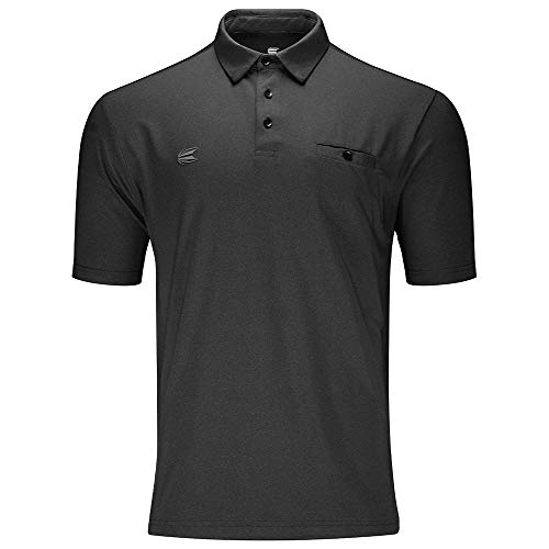 Target Darts Flexline Luxury Dunkelgraues Pro Darts Shirt Large