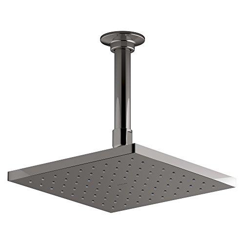 Find Bargain KOHLER 13695-TT Contemporary Square Rainhead with Katalyst Air-Induction Spray, 2.5 GPM...