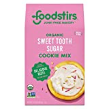 Foodstirs Organic,Non GMO Sweet Tooth Sugar Cookie Mix, 15.6 Ounce