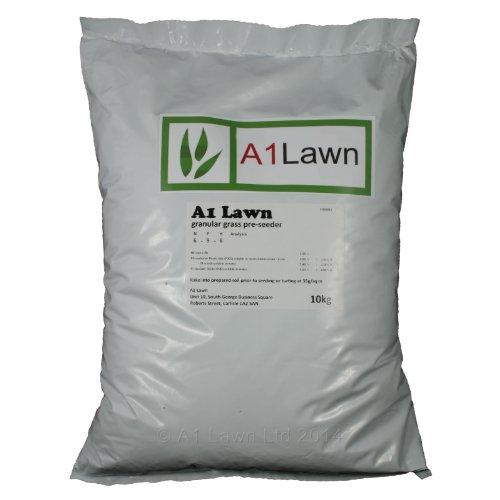 A1 Lawn, Pre Seed Fertiliser Lawn Food for New Grass, 10kg