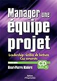 Manager une équipe projet - Leadership - grille de lecture et cas concrets