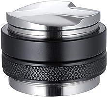 53mm Coffee Distributor & Tamper, MATOW Dual Head Coffee Leveler Fits for 54mm Breville Portafilter, Adjustable Depth-...