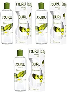 DURU LEMON TRADITIONAL TURKISH COLOGNE AFTERSHAVE 400ML (3