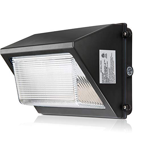 120W LED Wall Pack Lights with Photocell 15600LM Dusk-to-Dawn 5000K Commercial and Industrial Outdoor Security Lighting Fixture LED Flood Light IP65 Waterproof