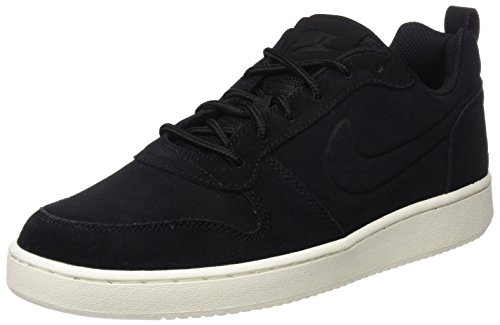 Nike Court Borough Low Prem, Scarpe da Basket Uomo, Nero Black/Sail 007, 46 EU