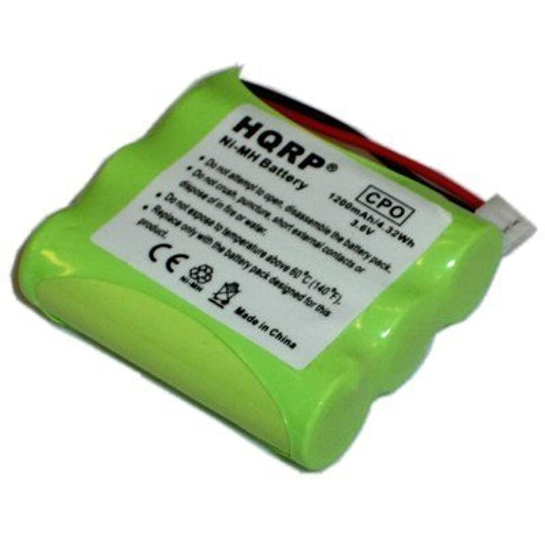 宝石さまようくさびHQRP 充電池、Motorola MA300, MA350, MA355, MA357 コードレス電話機種通用と互換性のある