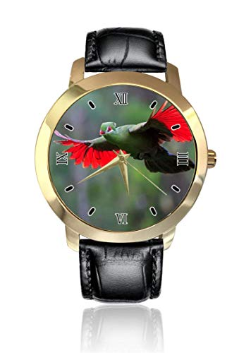 Reloj de Pulsera con diseño de pájaro Volador, Esfera Dorada Unisex, Correa...