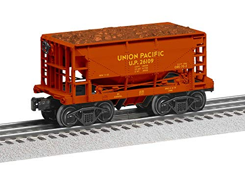 Lionel Union Pacific Ore Car, Electric O Gauge Model Train Cars, 6-Pack